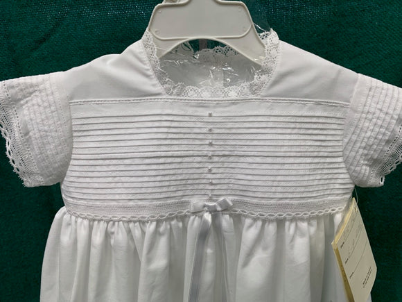 Christening Gown with Cross Ribbon