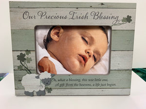 Picture Frame - Our Precious Irish Blessing - 4x6
