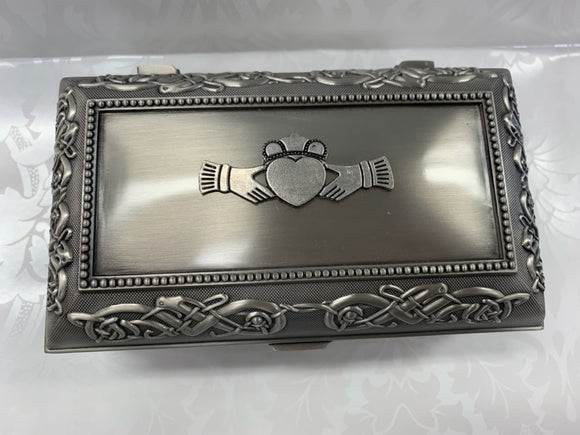 Mullingar Pewter Jewelry Box - Large