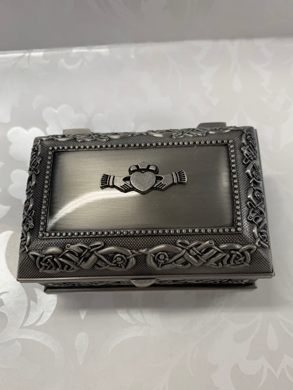 Mullingar Pewter Jewelry Box - Small