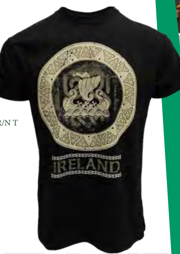 Black Ireland Celtic design T1312