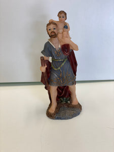 "Small st. Christopher 5.5"" tall"