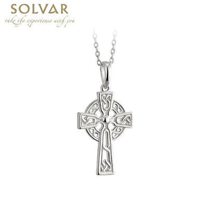 SILVER FILAGREE CELTIC CROSS PENDANT