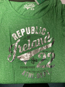 Green republic of Ireland shirt