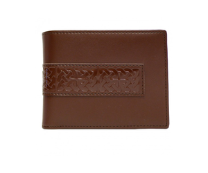 Patrick Francis brown leather wallet BK9049