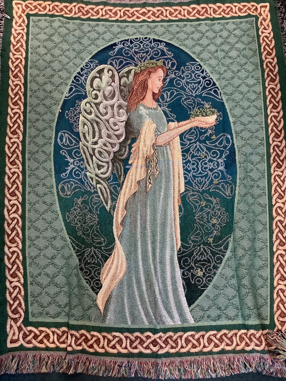 Irish angel 50x60 throw