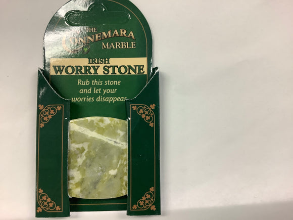 Marble worry stone