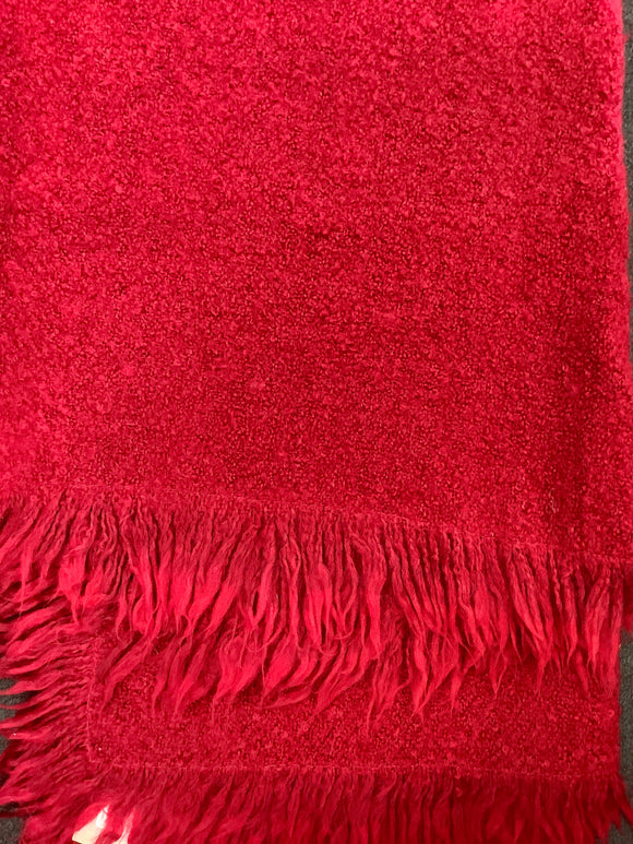 Brannigan weavers red throw