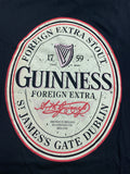 Guinness Black English Label Tee