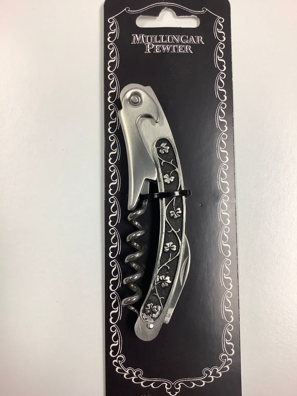 Corkscrew knife