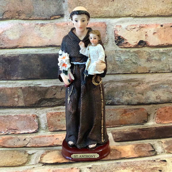 "St Anthony 8.5"" statue"