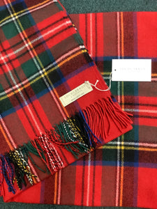Lochcarron of Scotland Stewart royal throw