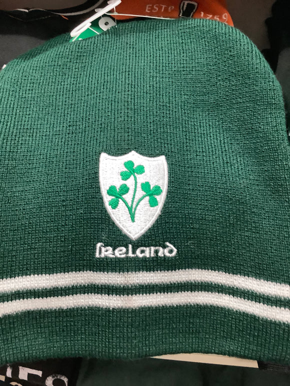 Ireland green ski cap