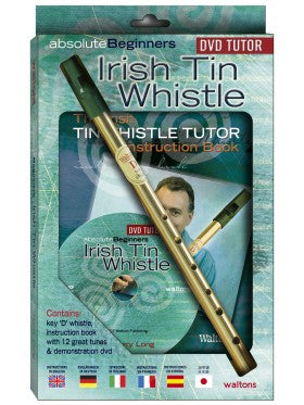 Beginners Irish Tin Whistle DVD Pack