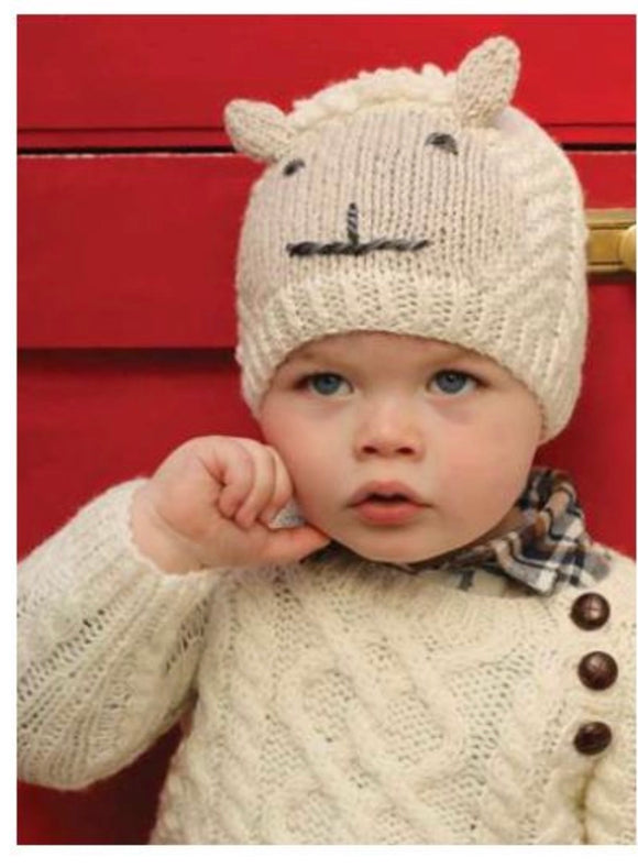 Sheply hat hand knit R780