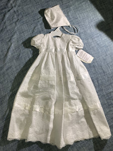 Lace Girls Christening Dress #AL14GS