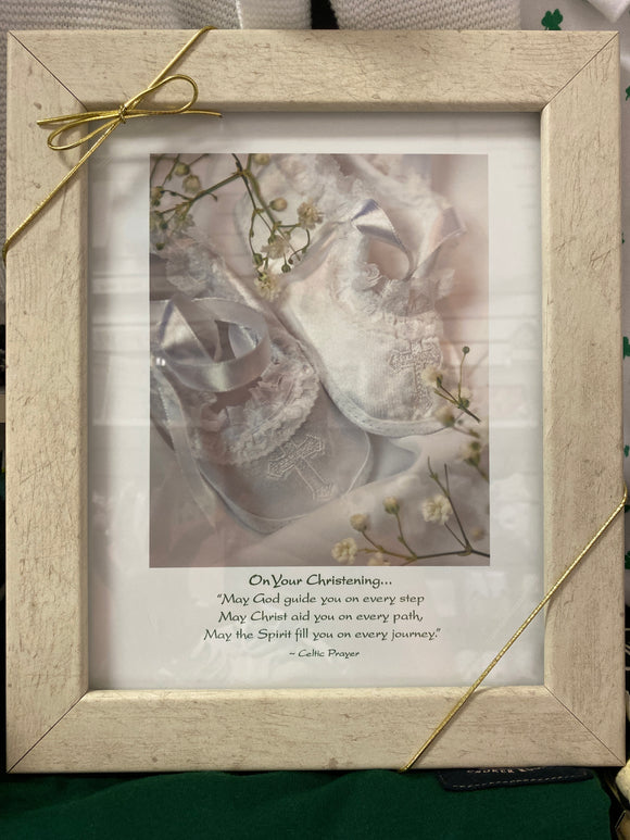 On Your Christening Day Picture Frame with Photo