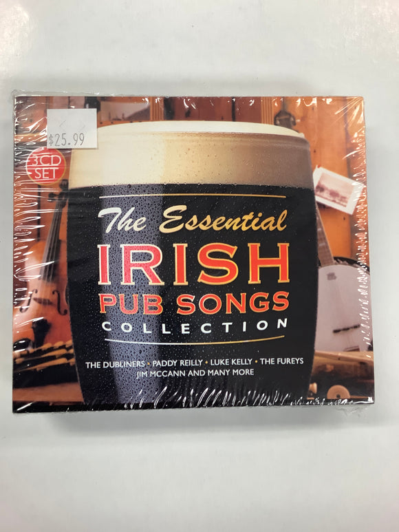 The essential Irish pub songs collection 3 cd set
