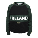 Croker Green & Black Kids Crew Neck
