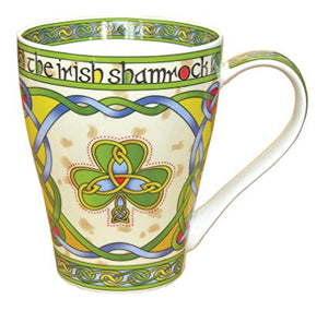 "Clara New Bone China Mug ""The Irish Shamrock"""