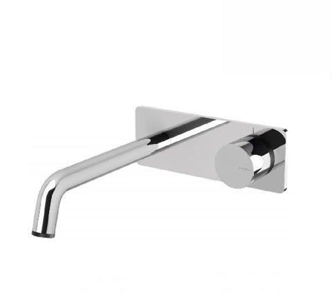 Phoenix Toi Bath Mixer Wall Set with 180mm Spout Chrome