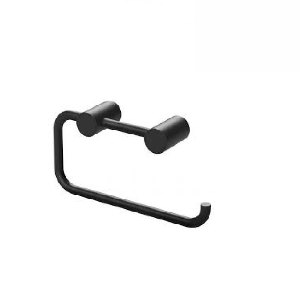 Phoenix Vivid Slimline Toilet Roll Holder Matte Black (4129891811388)