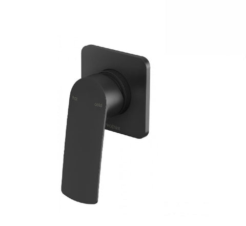 Phoenix Mekko Shower Mixer Matte Black (2530532425788)