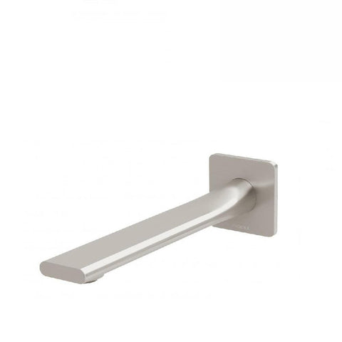 Phoenix Teel Wall Basin Outlet 200mm Brushed Nickel (4129892794428)