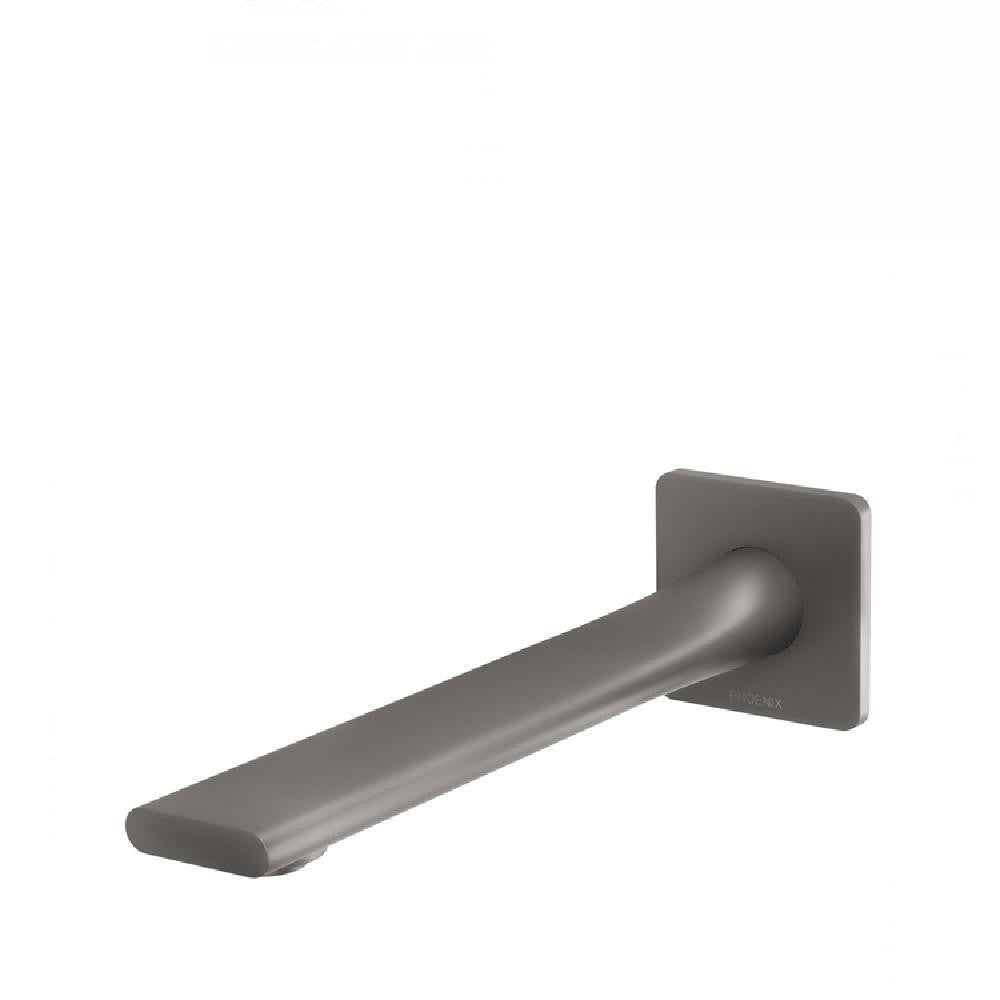 Phoenix Teel Wall Bath Outlet 200mm Gun Metal (4129892925500)