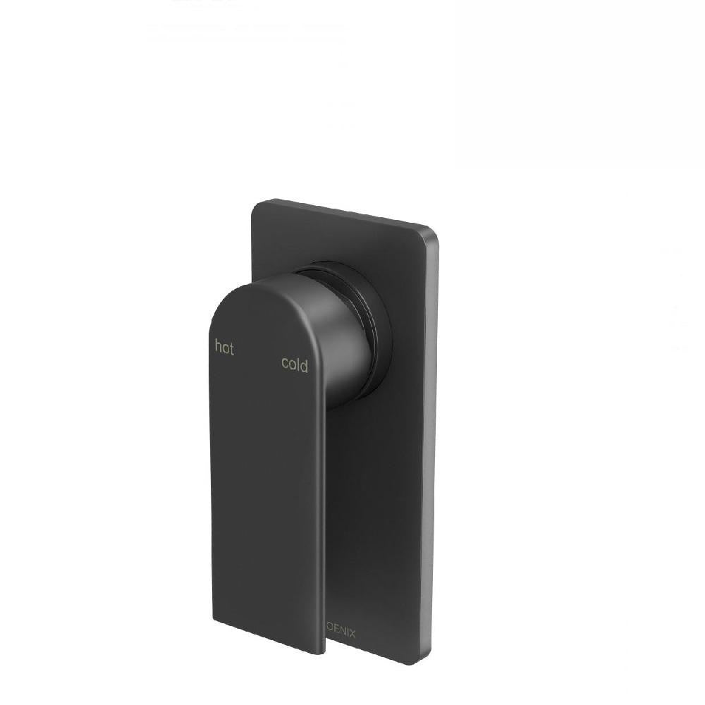 Phoenix Teel Shower/ Wall Mixer Matte Black (4129893187644)