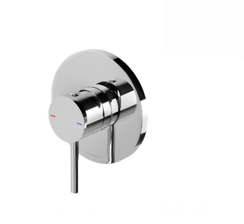 Phoenix Pina Shower Mixer Chrome (Trim kit & Body) (2530533474364)