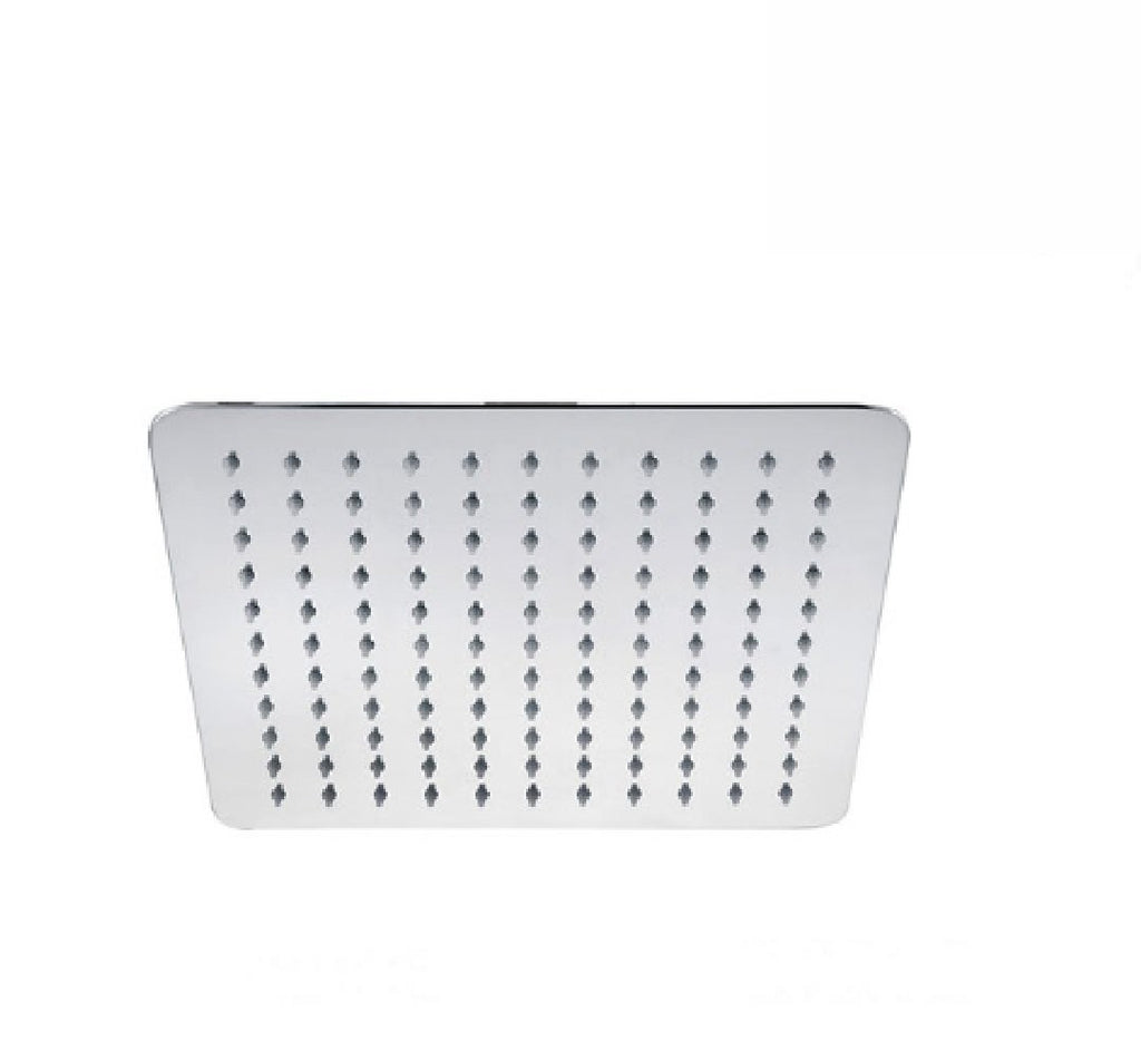 Fienza Square Slice Shower Head 250mm Chrome