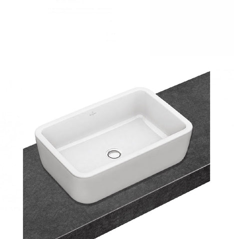 Villeroy & Boch Architectura Rectangular Vessel 600mm Basin White (4129909571644)