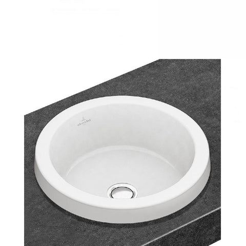 Villeroy & Boch Architectura Round Drop In 415mm Basin White (4129909637180)