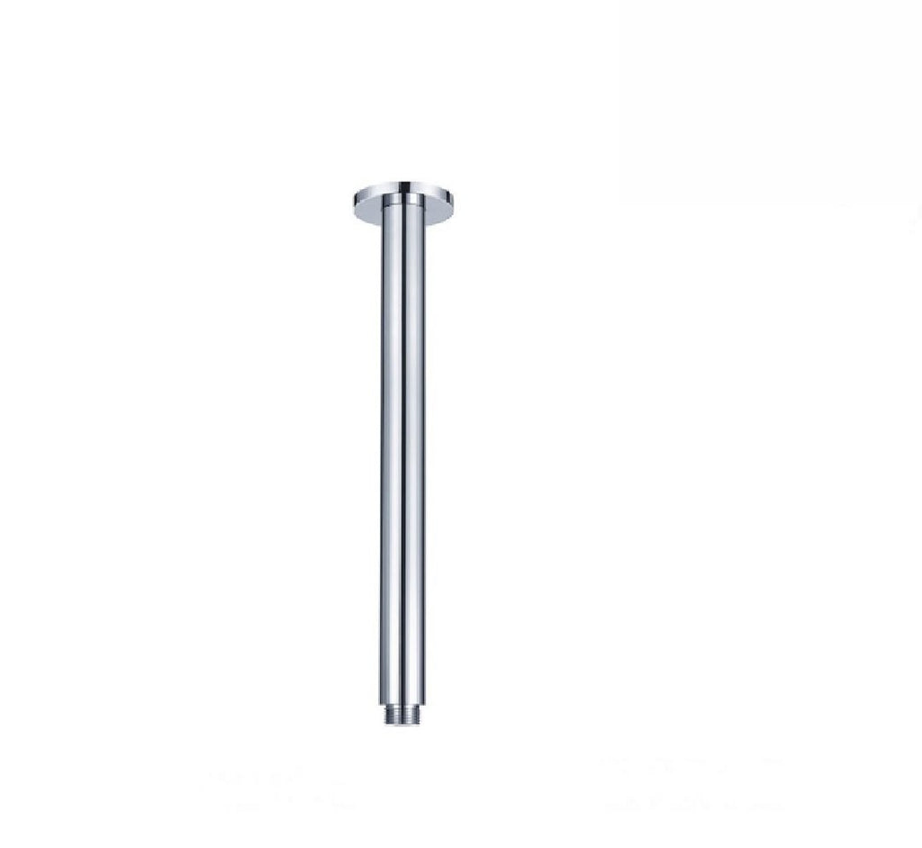 Fienza Round Ceiling Dropper Arm 300mm Chrome (2530547269692)
