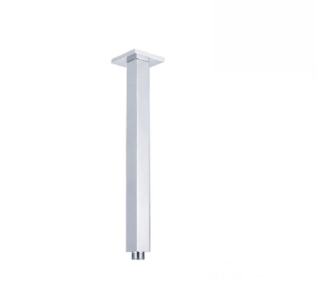 Fienza Square Ceiling Dropper 450mm Chrome