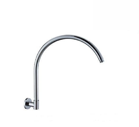 Fienza Round Swivel Gooseneck Arm 400mm Chrome