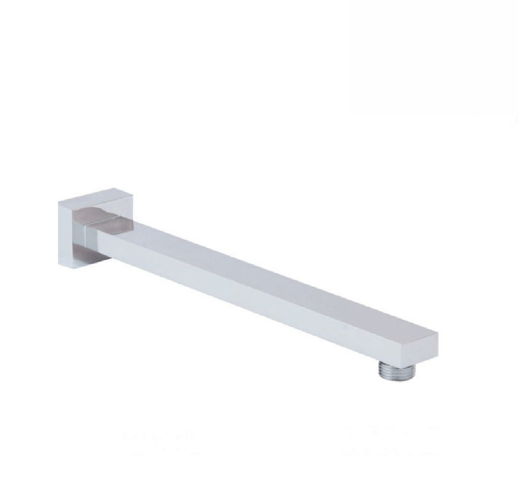 Fienza Square Wall Arm Only 300mm Chrome (2530547957820)