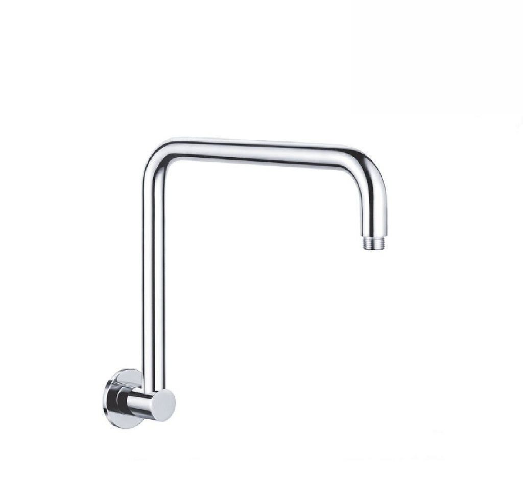 Fienza Round Fixed Gooseneck Arm Only 350mm Chrome