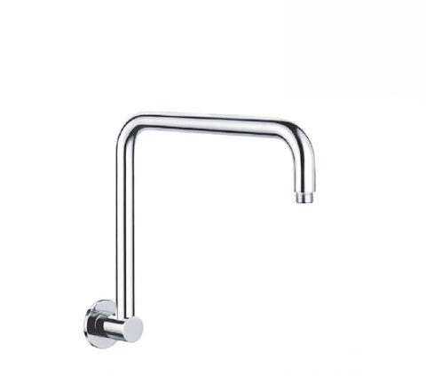 Fienza Round Fixed Gooseneck Arm Only 350mm Chrome (2530547466300)