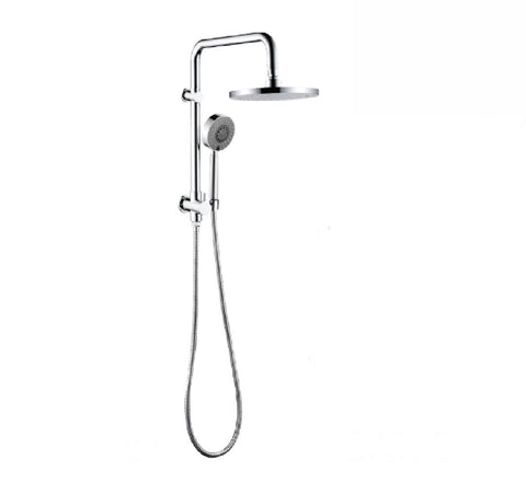Fienza Isabella Multifunction Half Shower Rail Chrome