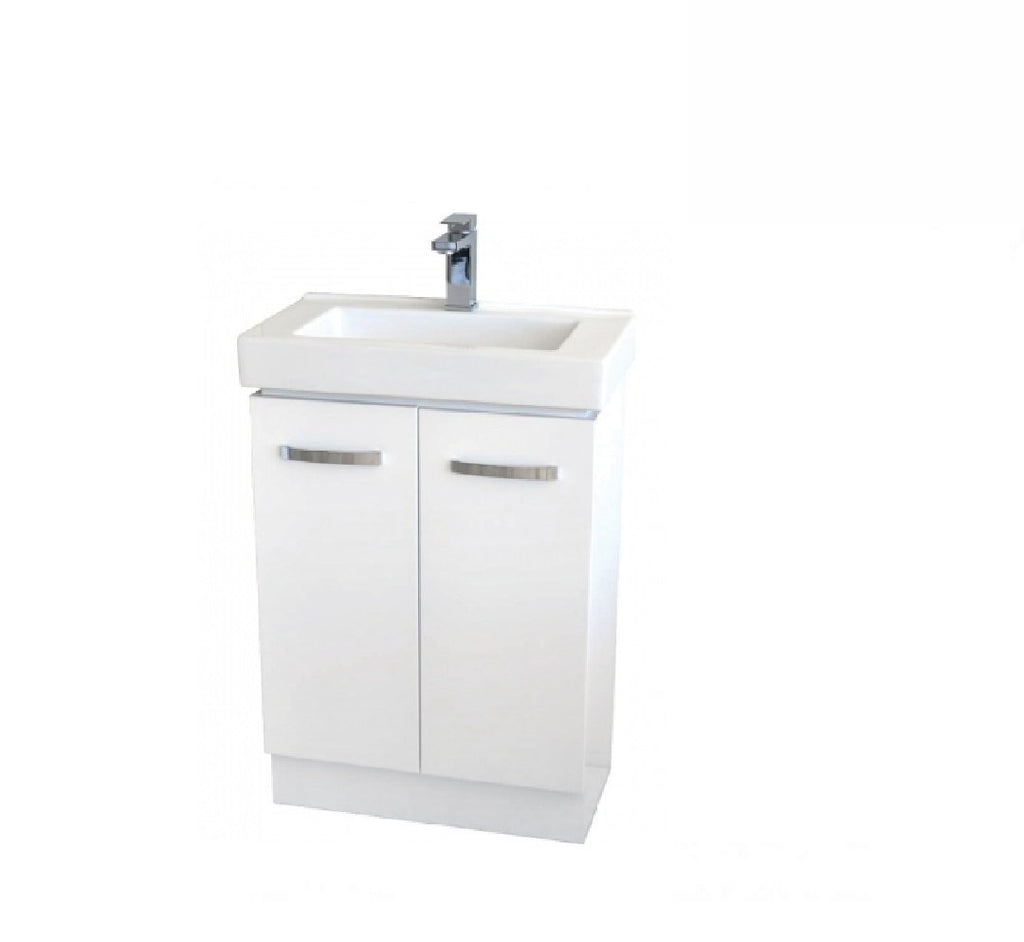 Fienza Regent Slim 600mm Vanity Unit White (2530544910396)