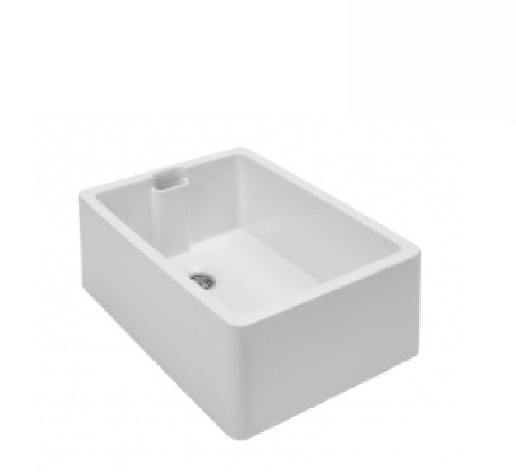Turner Hastings Butler Belfast Single Bowl Sink 60 x 46 White (2530553921596)