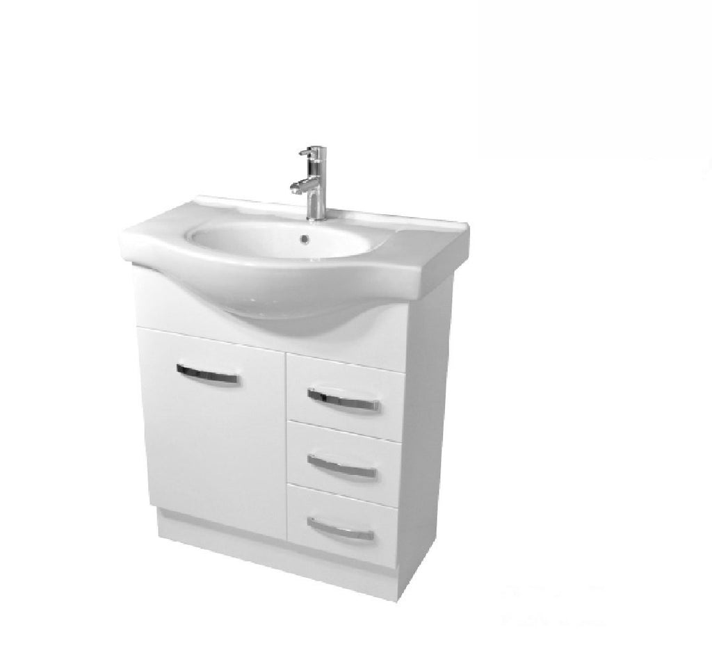 Fienza Antonio 750mm Vanity Unit White (2530544386108)