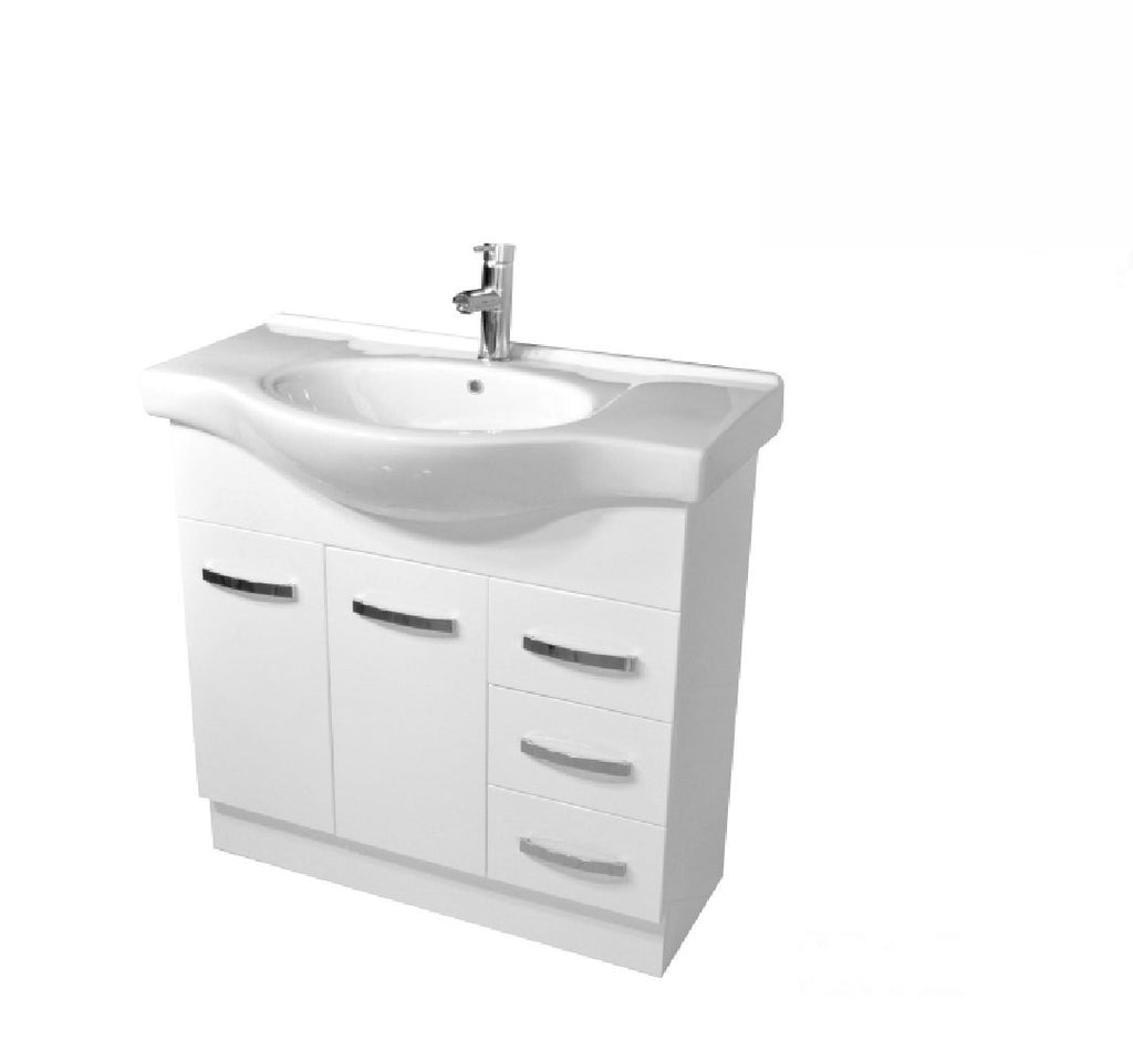 Fienza Antonio 900mm Vanity Unit White (2530544418876)