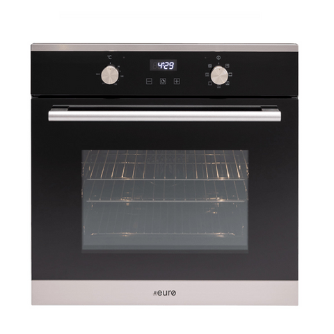 Euro Appliances Oven Multifunction Electric 60cm Stainless Steel EO60MXS (4554656841788)