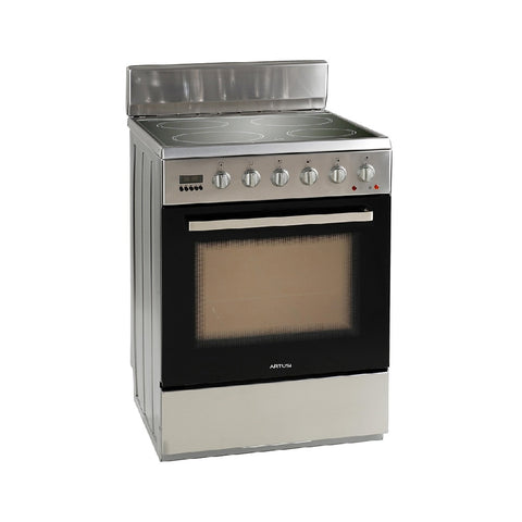 Artusi Oven 60cm Single Door Upright 7 Functions Ceran Top Stainless Steel AFC607X (4615429881916)