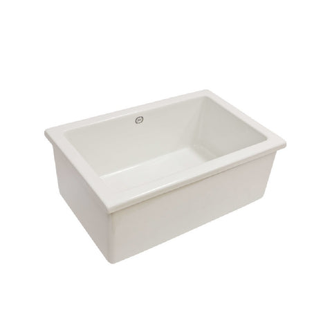 1901 Lab Sink 3 585x380x230mm White AB0800W (4641024540732)