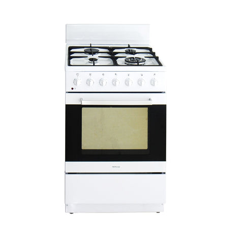 Artusi Oven 60cm Upright W/ 7 Functions Gas Hob Electric White AFGE6070W (4615429292092)