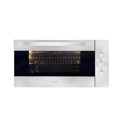 Artusi Oven 90cm 100L Built in Electric W/ 9 Functions & Timer Stainless Steel CAO900X1 (4615429849148)